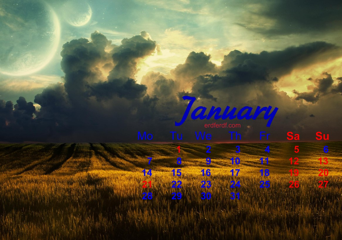 December 2018 Calendar Printable Best Landscape