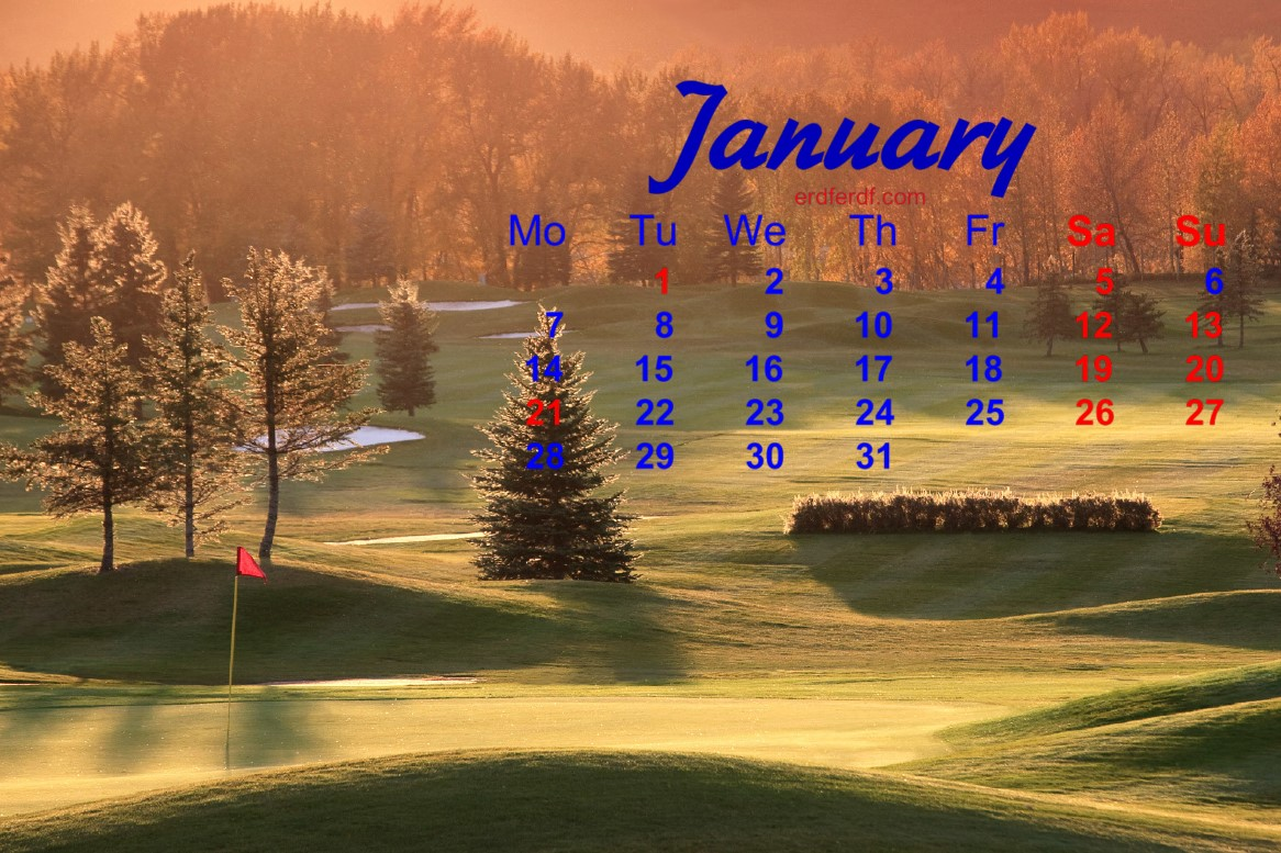 December 2018 Calendar Printable Wallpaper
