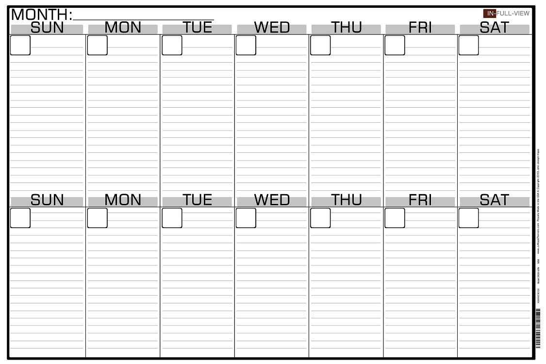 2 week blank calendar calendar printable free Free 2 Week Blank Printable Calendar erdferdf