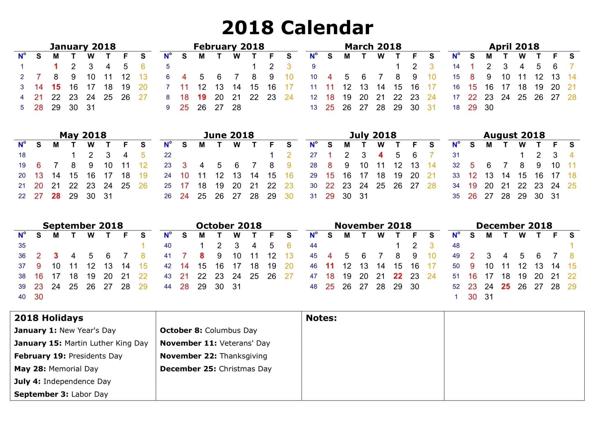 2018 federal holidays usa uk national  Government Calendar With Holidays 2018 erdferdf