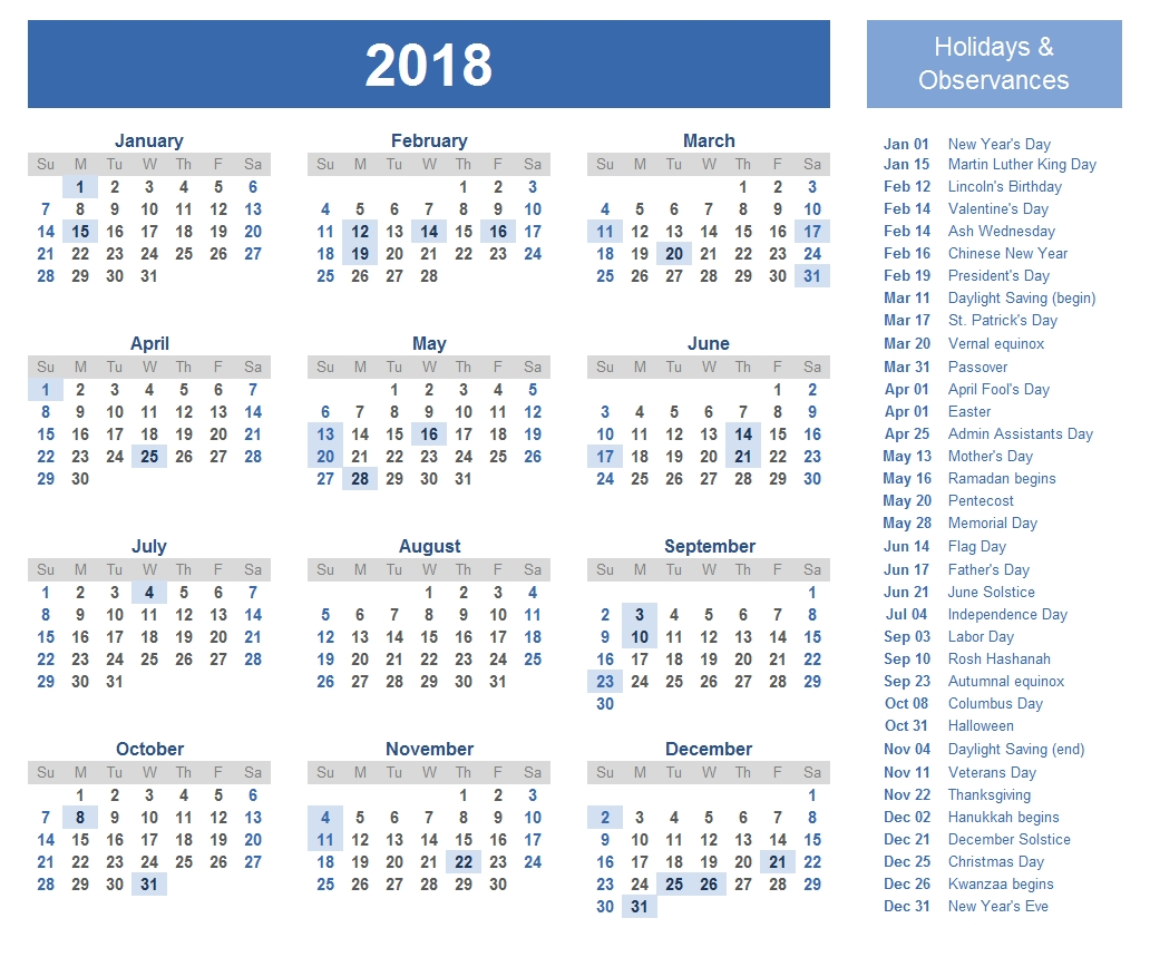 2018 federal holidays usa uk national holidays public holidays Government Calendar With Holidays 2018 erdferdf