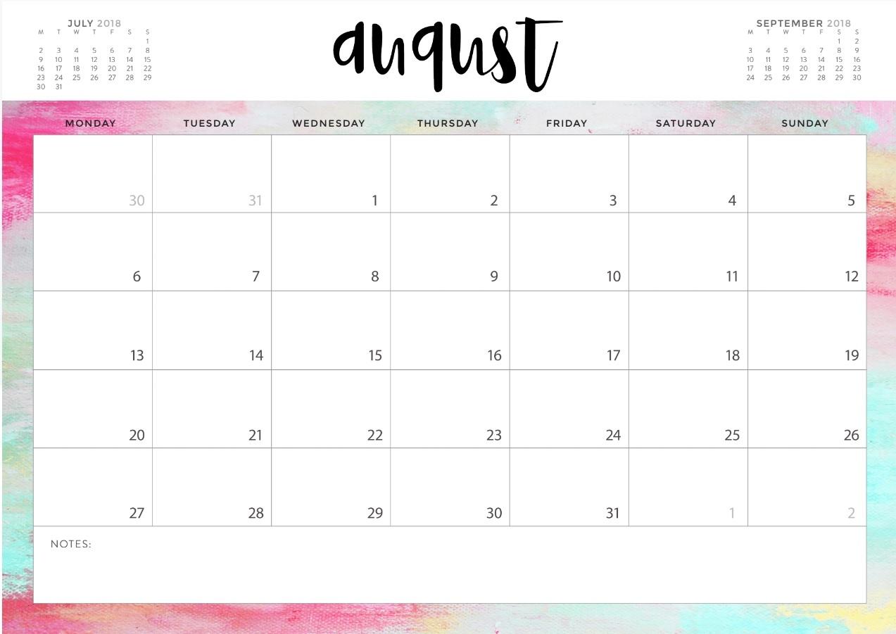 august 2018 blank calendar templates calendar 2018 Calendar August 2018 Printable Schedule erdferdf