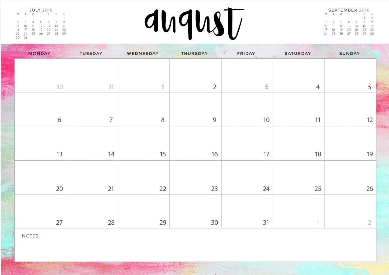 august 2018 blank calendar templates calendar 2018 Calendar August 2018 Printable Template erdferdf