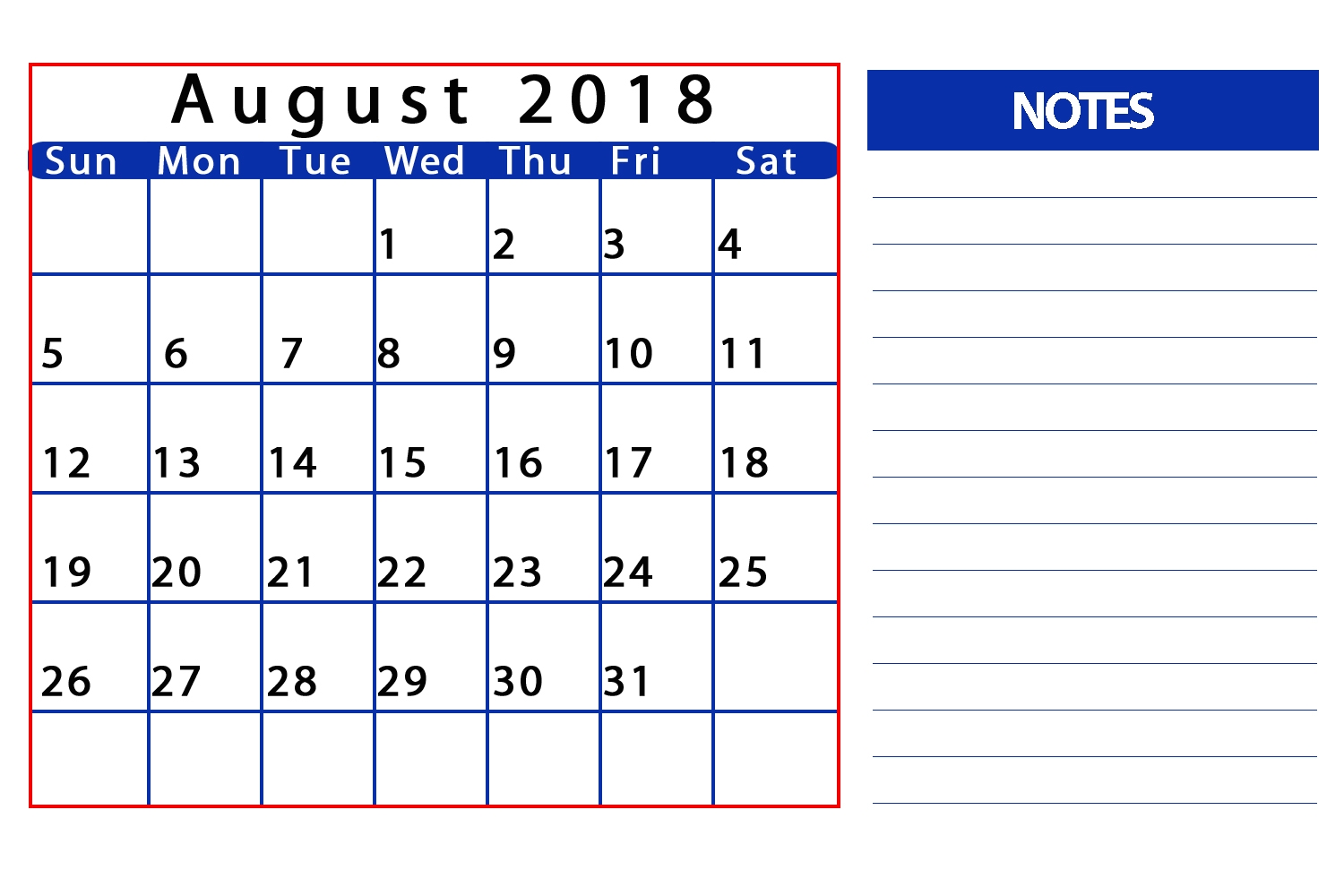 august 2018 calendar with holidays india monthly 2018 Calendar August Through December erdferdf