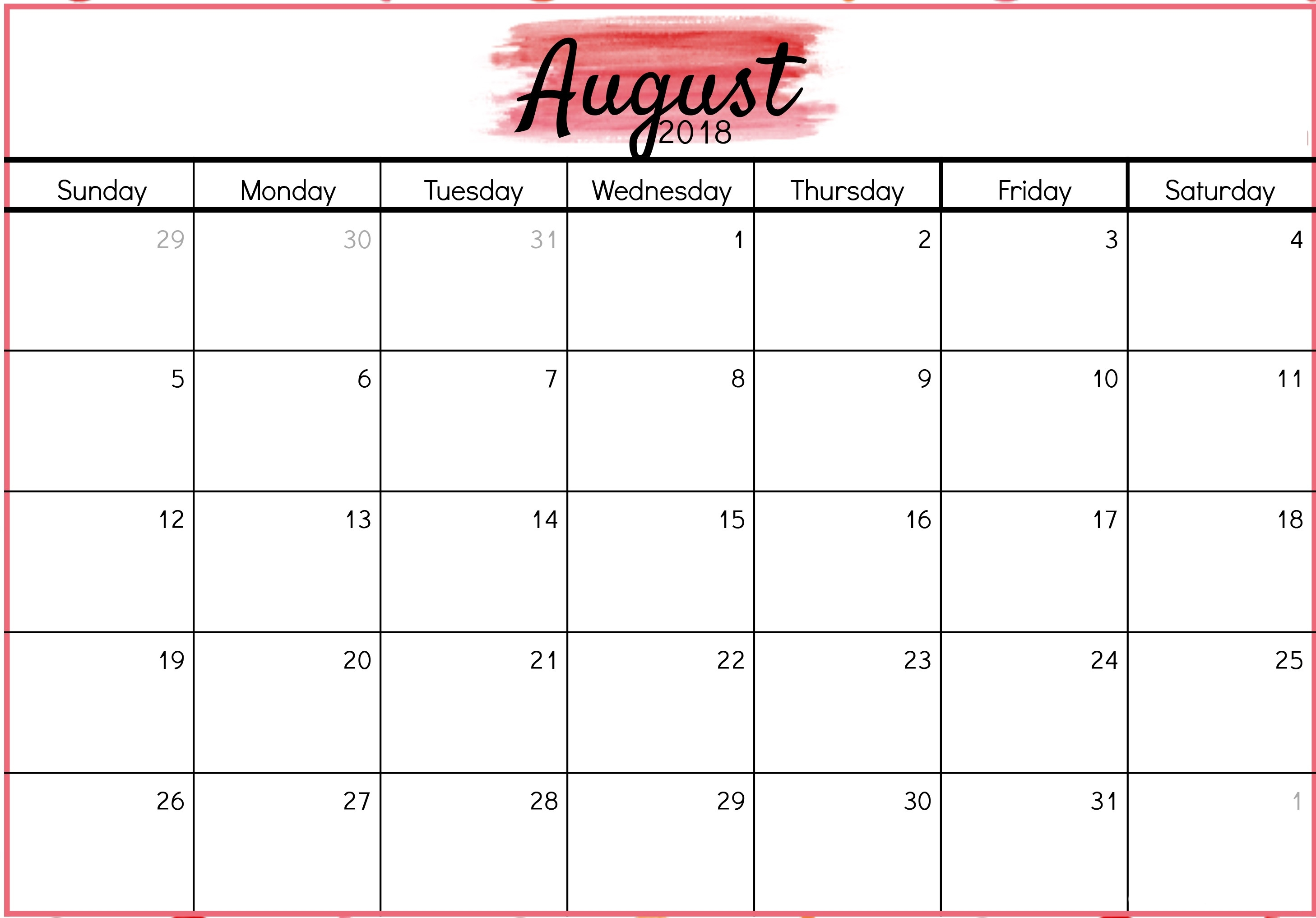 august 2018 printable calendar scripture free hd images Calendar August 2018 Printable Valentines erdferdf