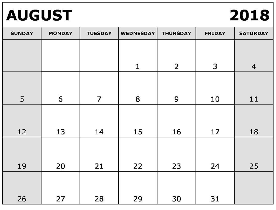 august 2018 printable calendar template free printable calendar 2018 Calendar August 2018 Printable Zodiac erdferdf