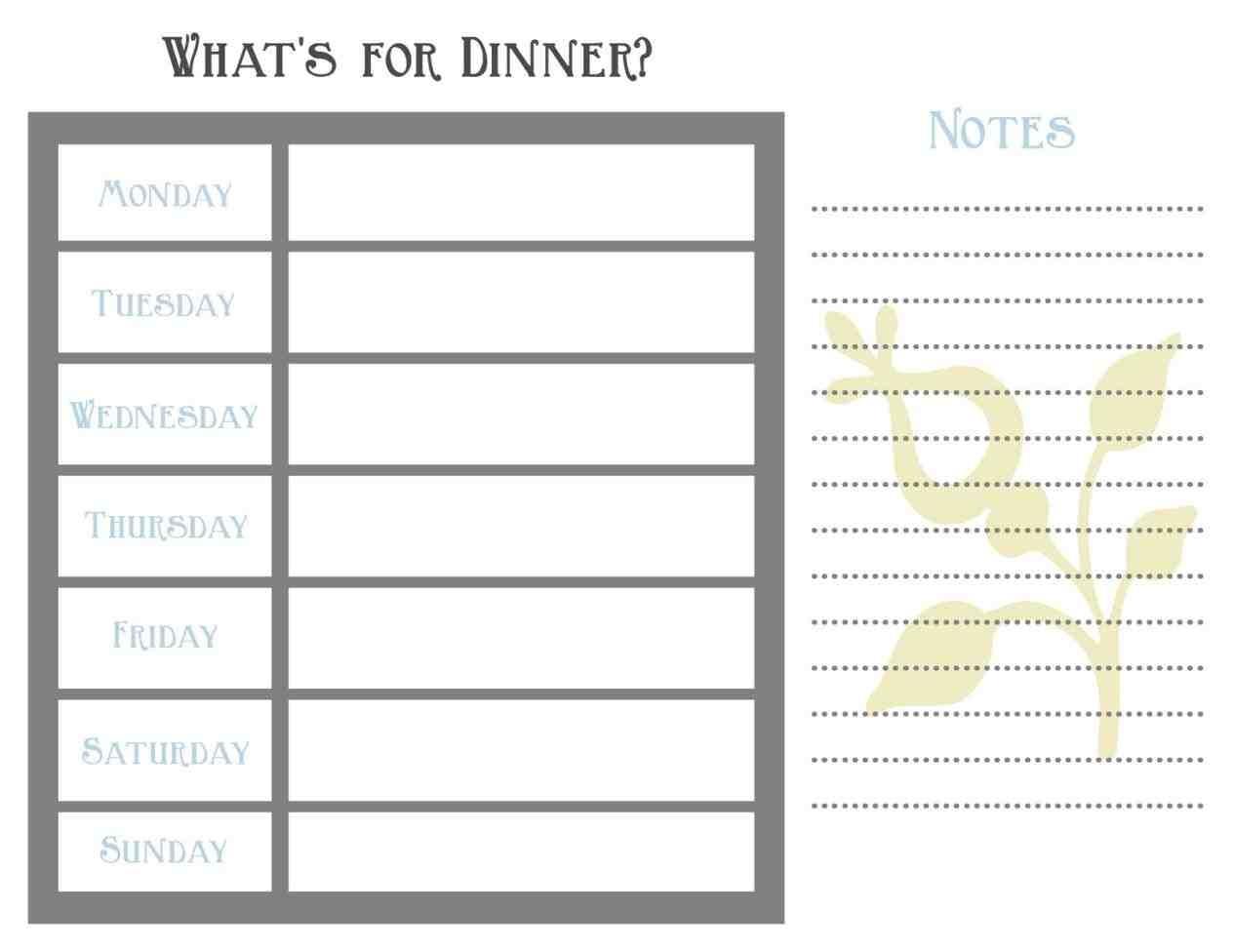 blank weekly planner bitcoinrushtk 7 Day Weekly Planner Template Printable erdferdf