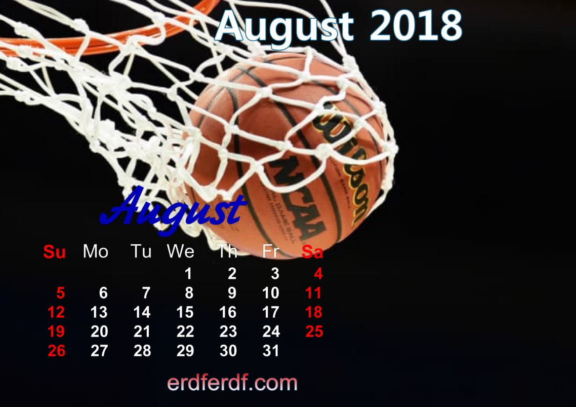 calendar august 2018 uk basketball 3