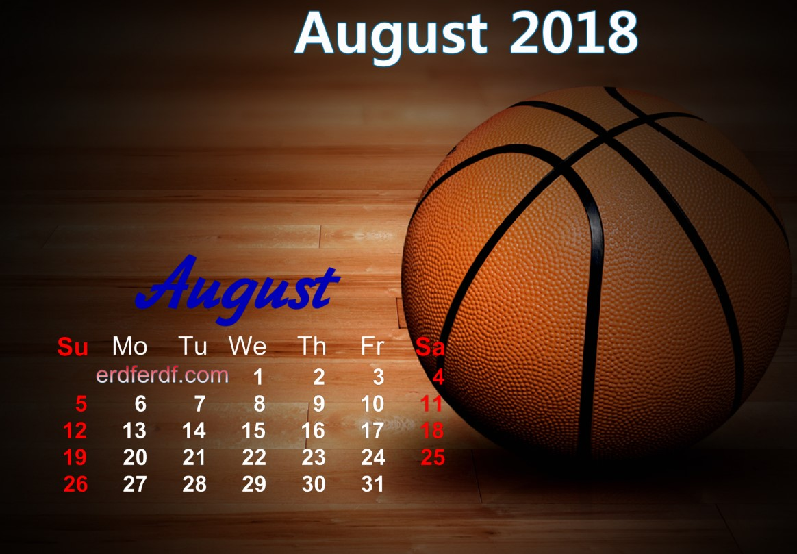 calendar august 2018 uk basketball 4