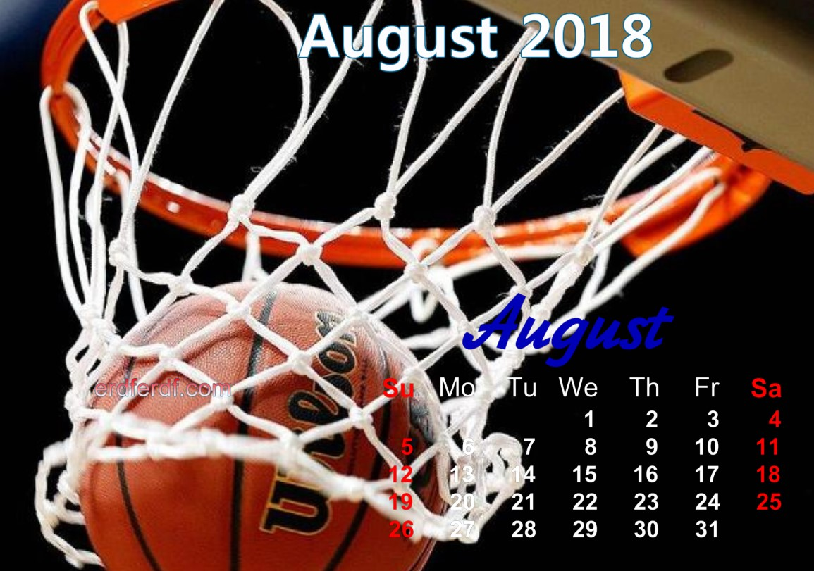calendar august 2018 uk basketball 6