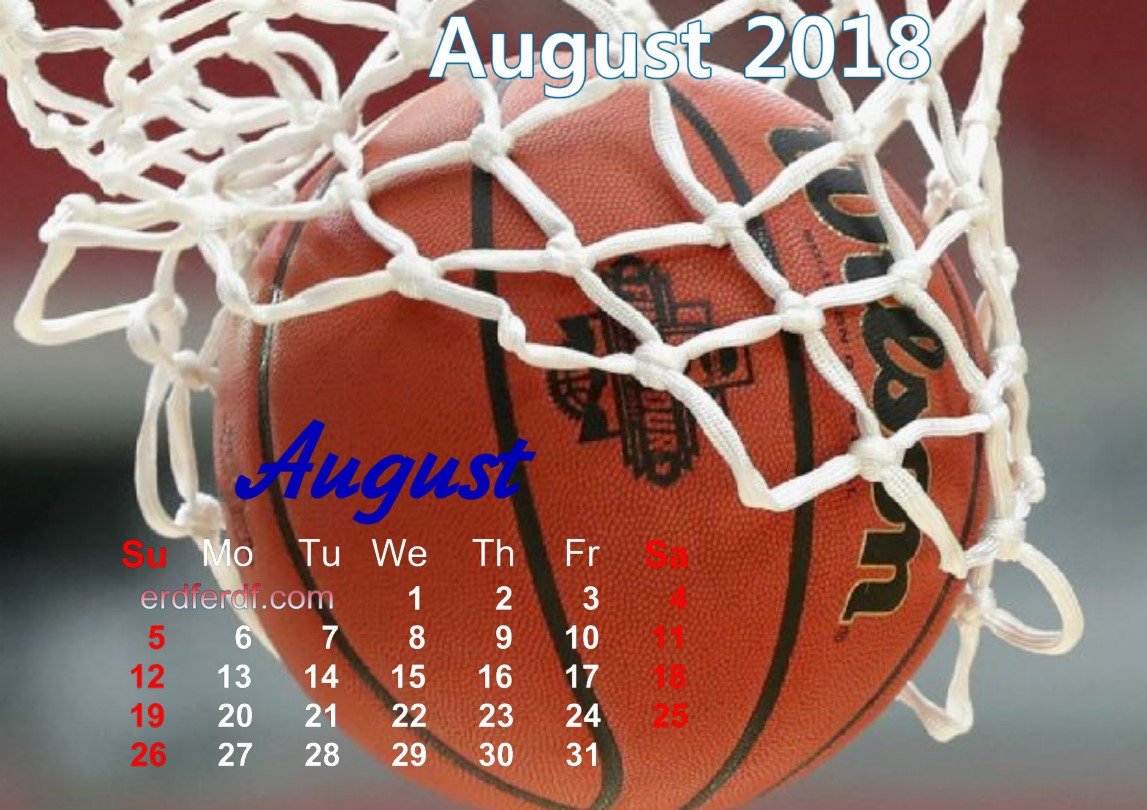 calendar august 2018 uk basketball 7 image