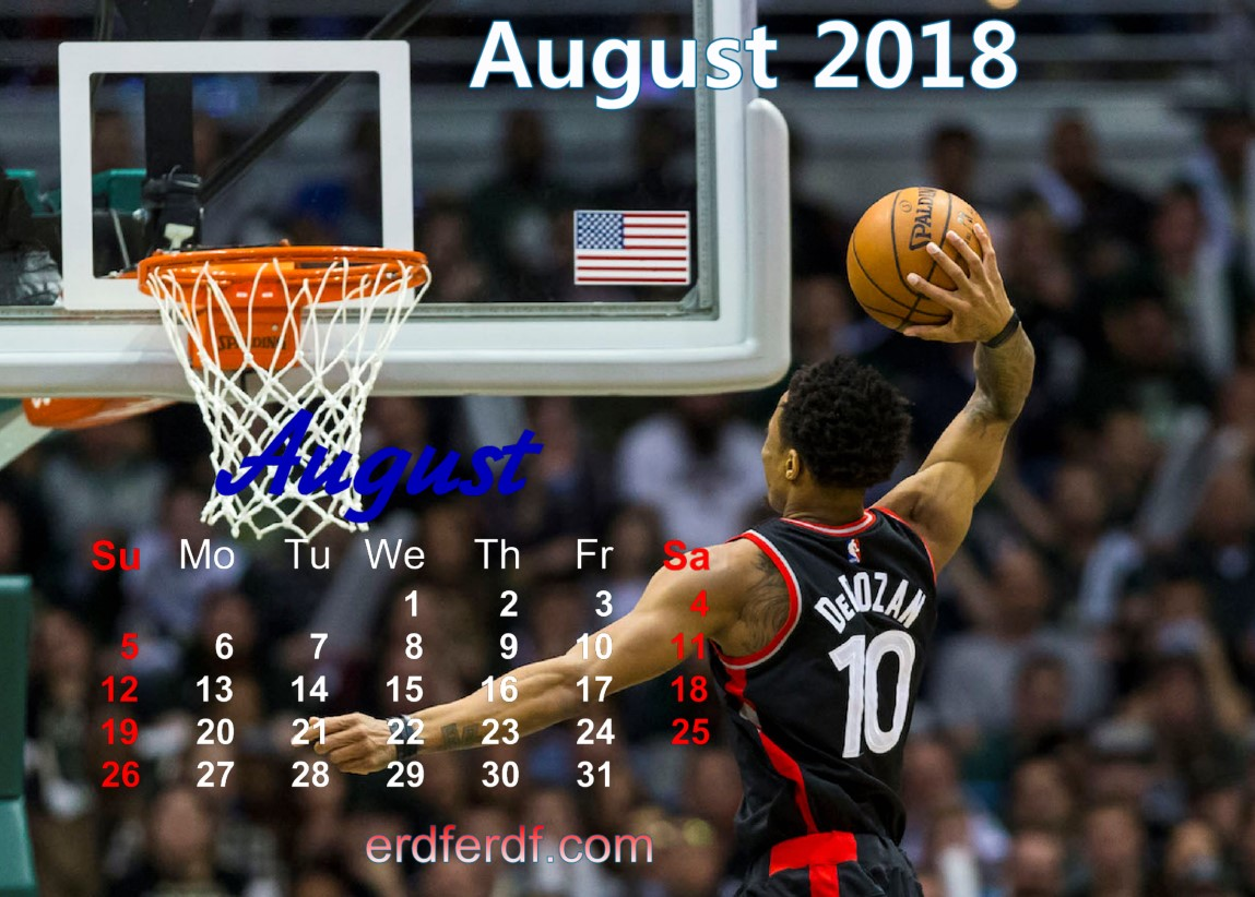 calendar august 2018 uk basketball Download