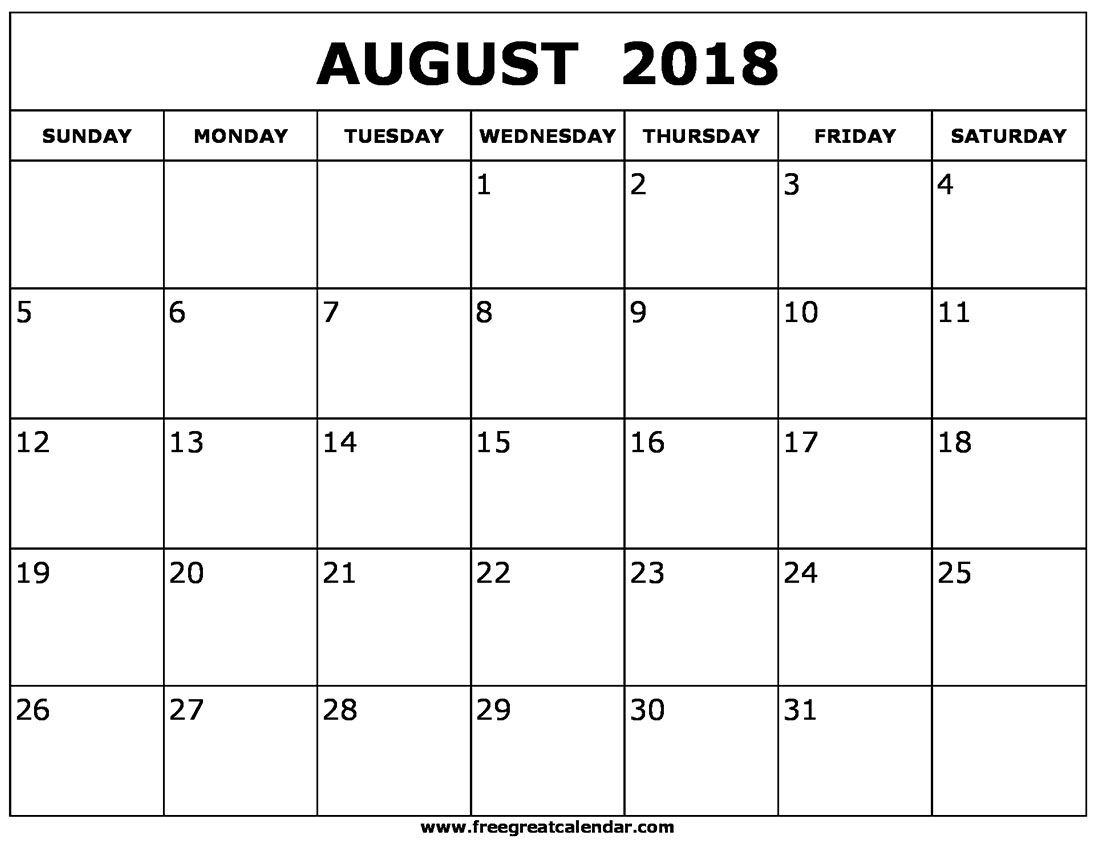 calendar august 2018 uk list calendar template printable Calendar August 2018 Uk List erdferdf