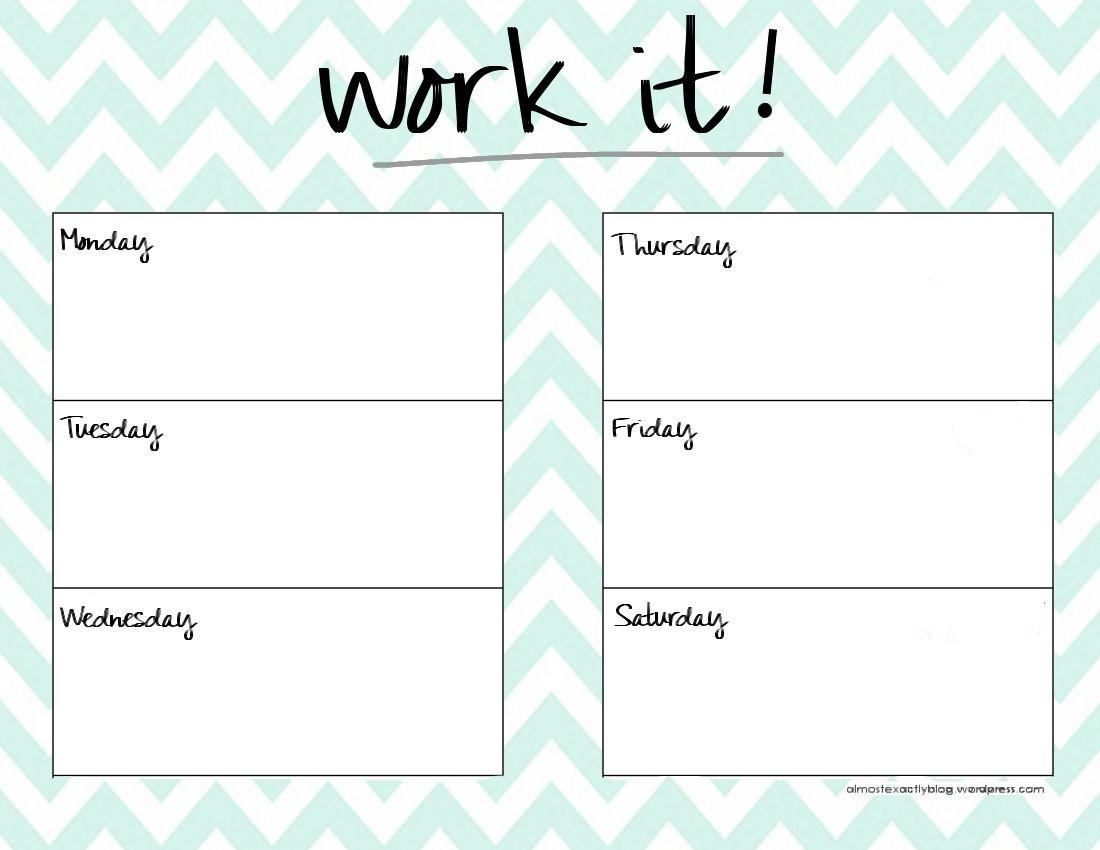 cute weekly planner template happy planner pinterest planner Cute Printable Blank Calendar Weekly Schedule erdferdf