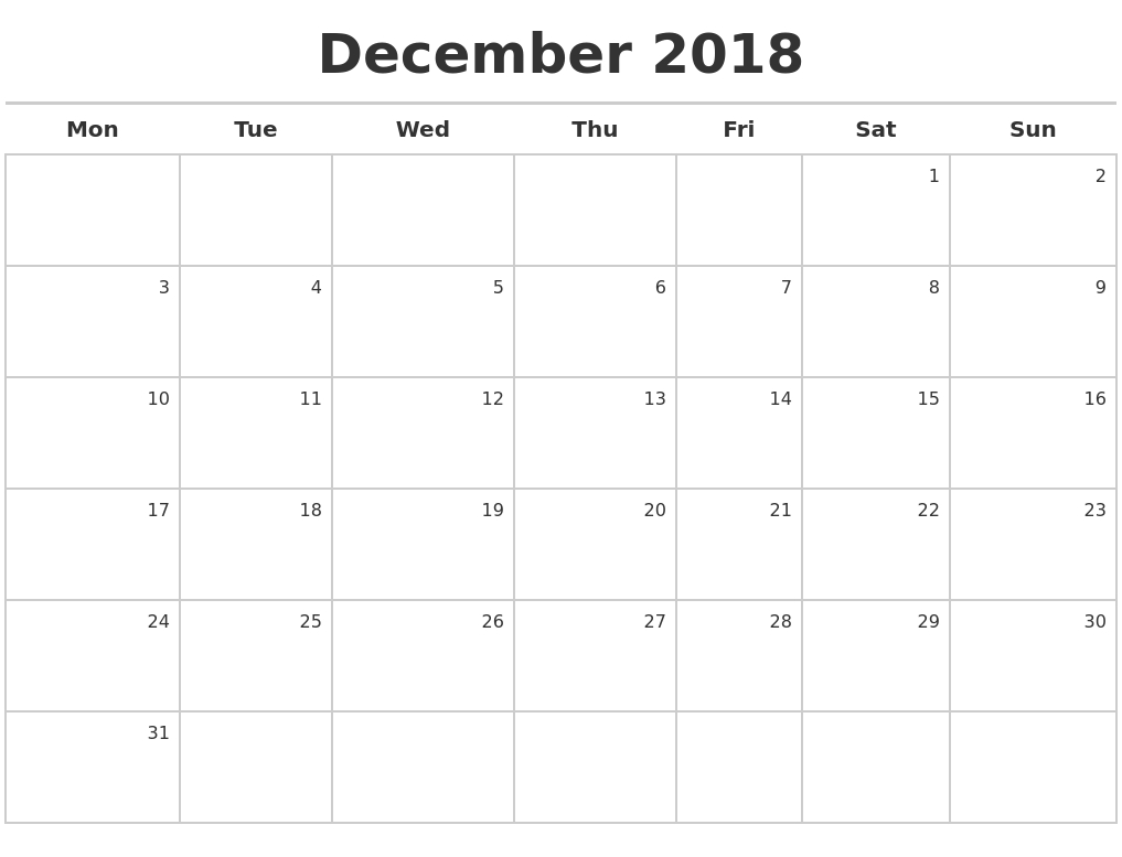 december 2018 calendar maker 2018 Calendar August Through December erdferdf