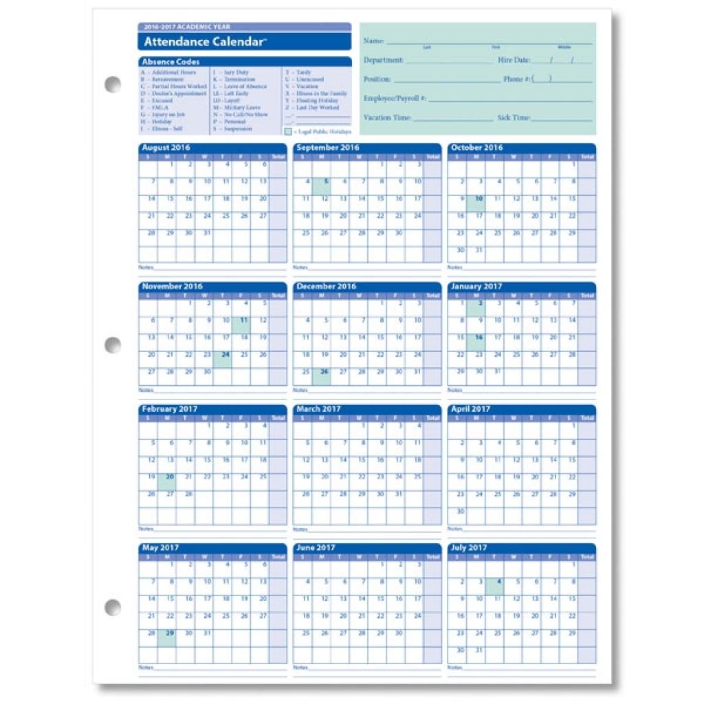 employee attendance calendar template 2018 calendar template Free Employee Attendance Calendar 2018  erdferdf