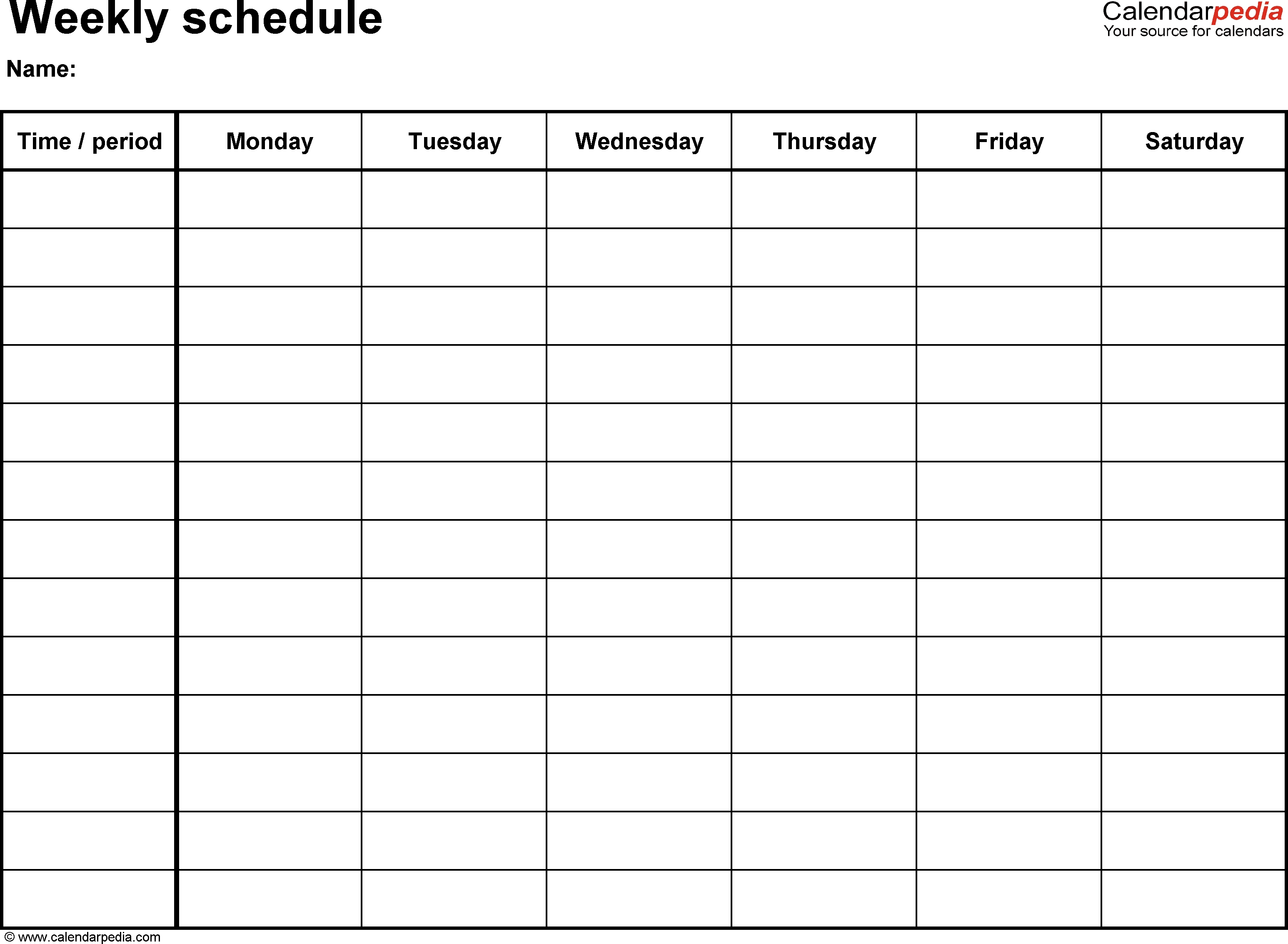 fillable weekly calendar  Printable Weekly Calendar With 15 Minute Time Slots erdferdf
