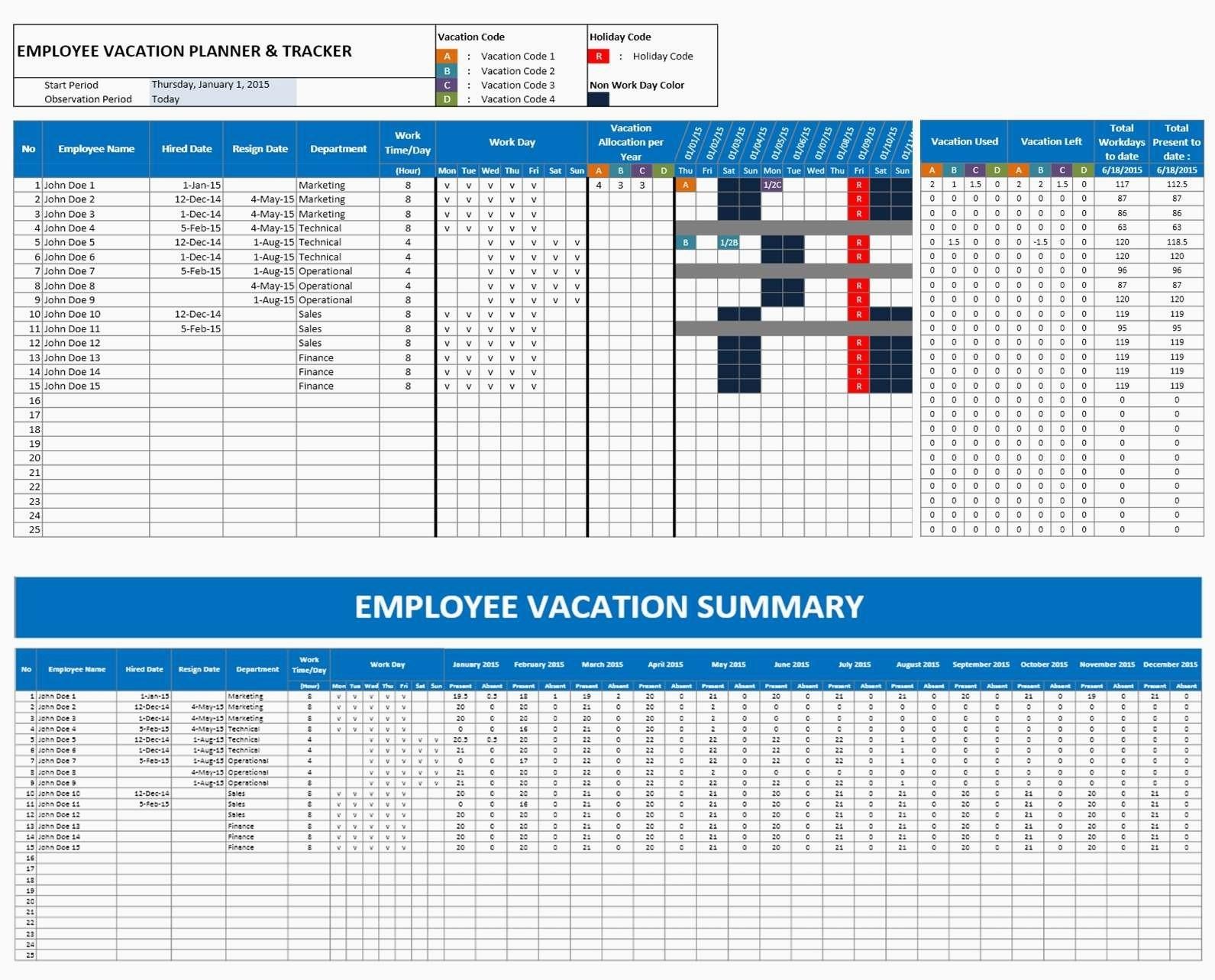free 2018 yearly attendance calendar free employee attendance yearly Free Employee Attendance Calendar 2018  erdferdf