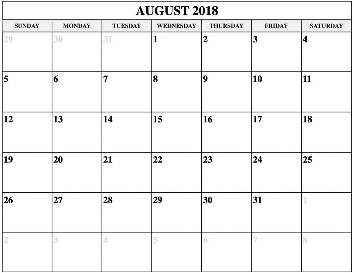 free calendar august 2018 template office letter template Calendar August 2018 Printable Worksheets erdferdf