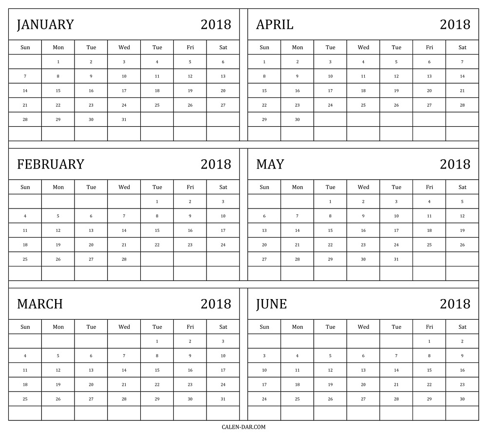free monthly calendar template 2018 gallery template design ideas Free Printable 2018 Calendar By Month erdferdf
