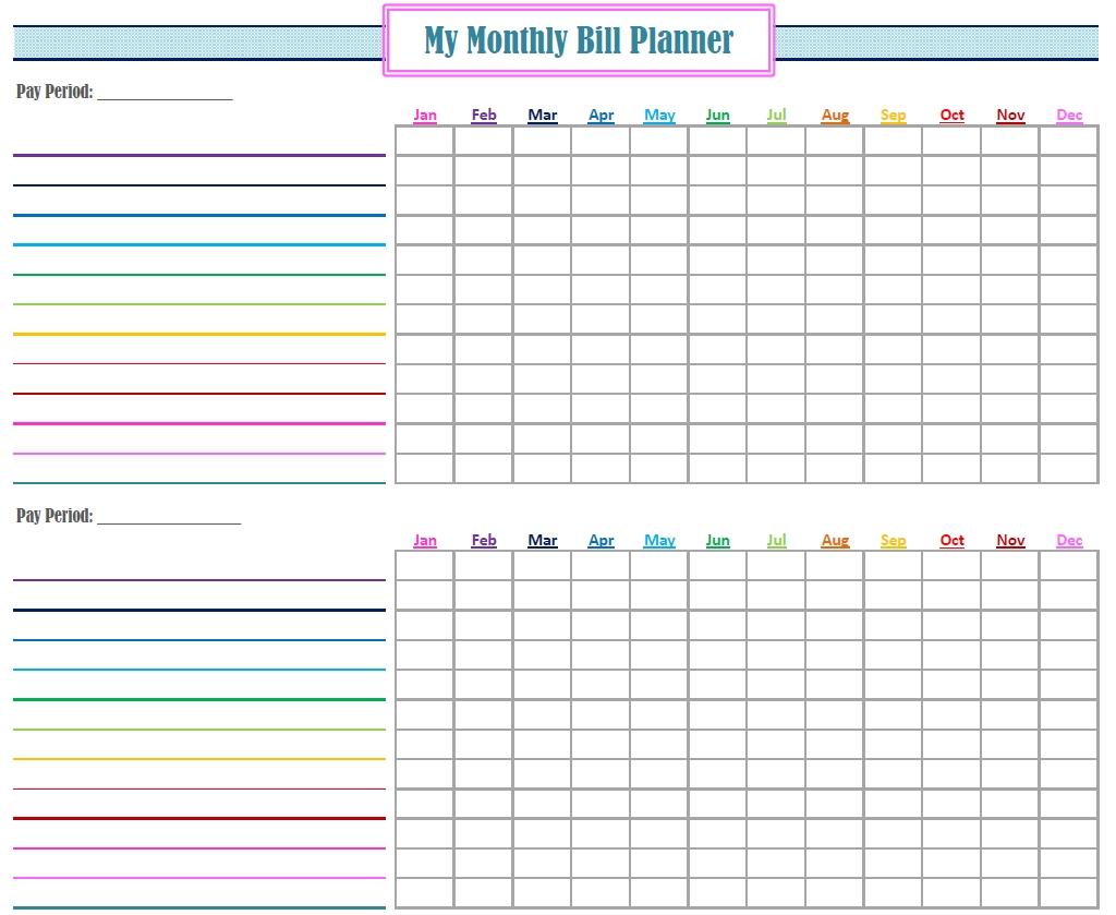 free printable monthly bill payment calendar calendar 2018 design Free Bill Paying Organizer 2018 erdferdf