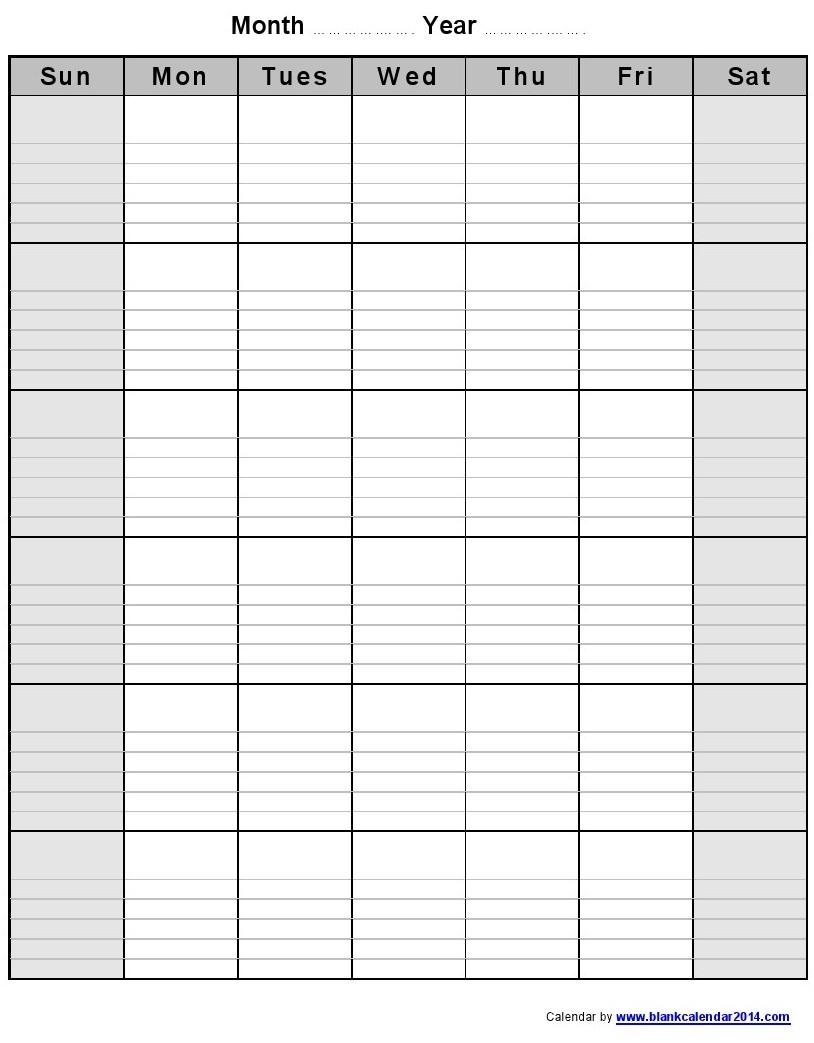 free printable monthly calendar with lines printable calendar Free Printable Monthly Calendar With Lines erdferdf