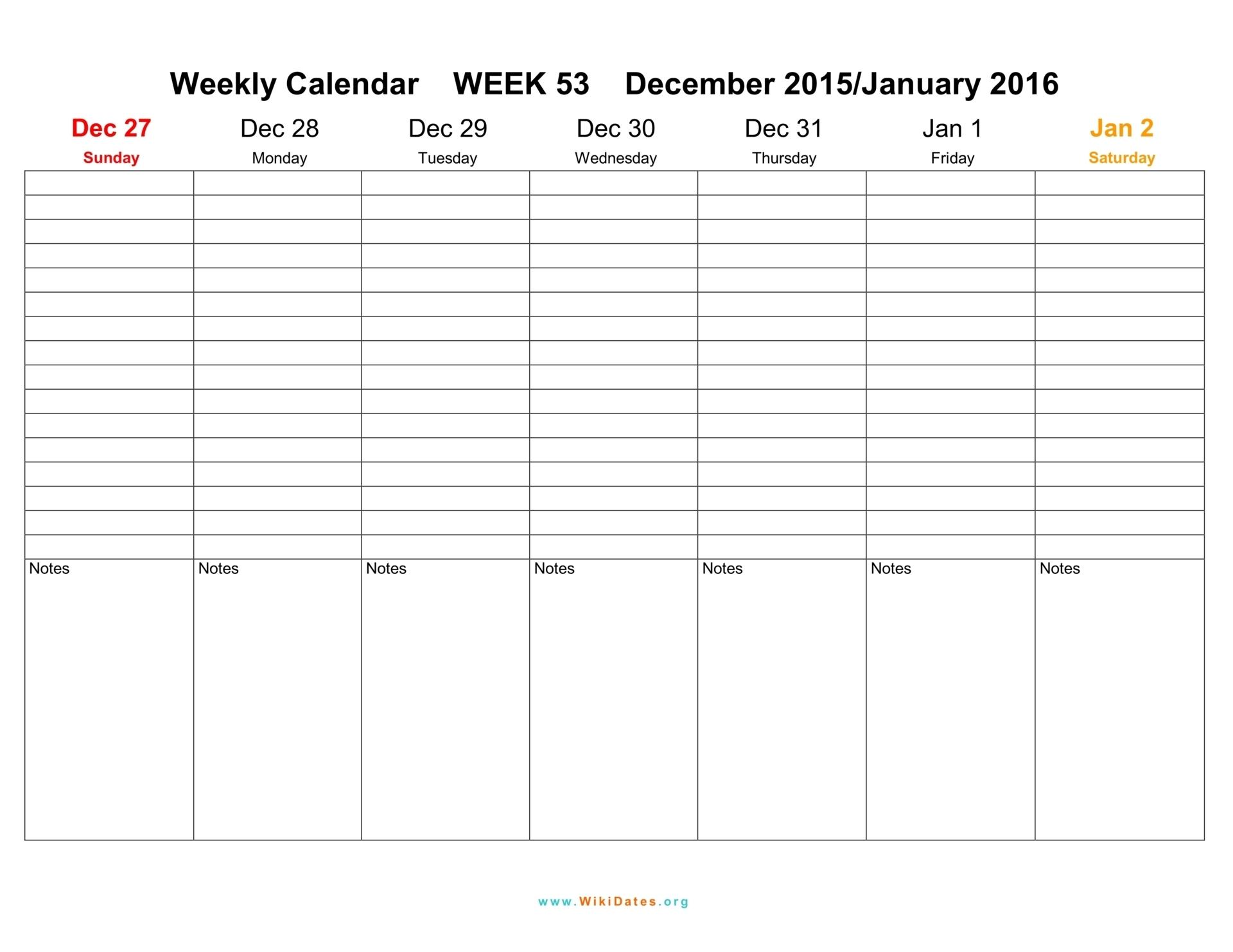 free printable weekly calendar 2018 Free Printable Weekly Calendar Pdf  erdferdf