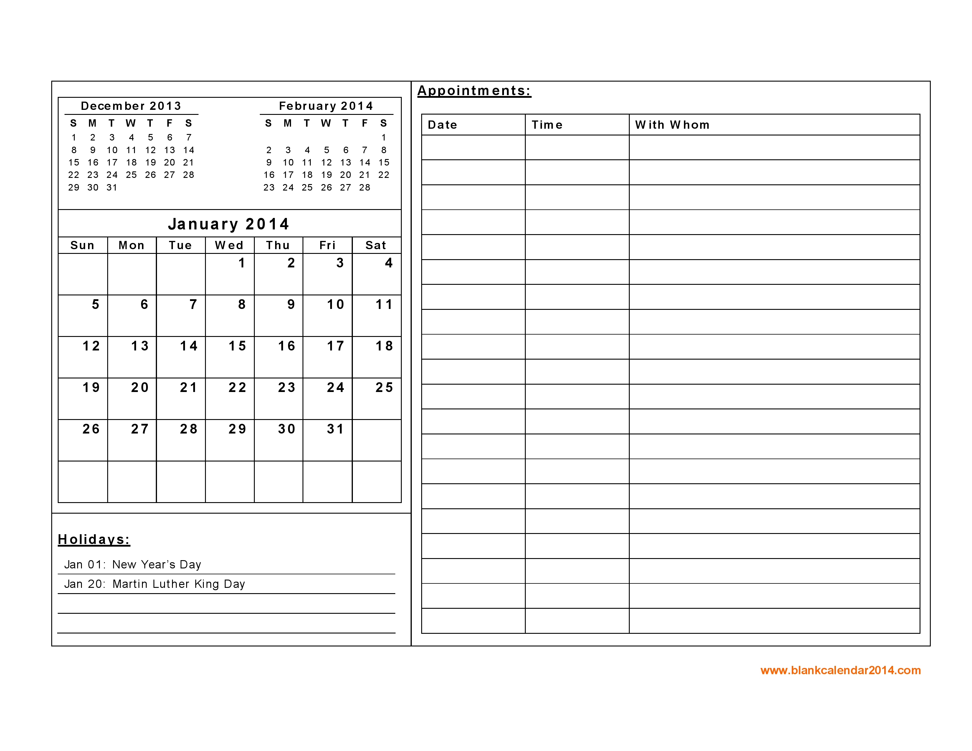 monthly calendar Free Printable Monthly Calendar With Lines erdferdf
