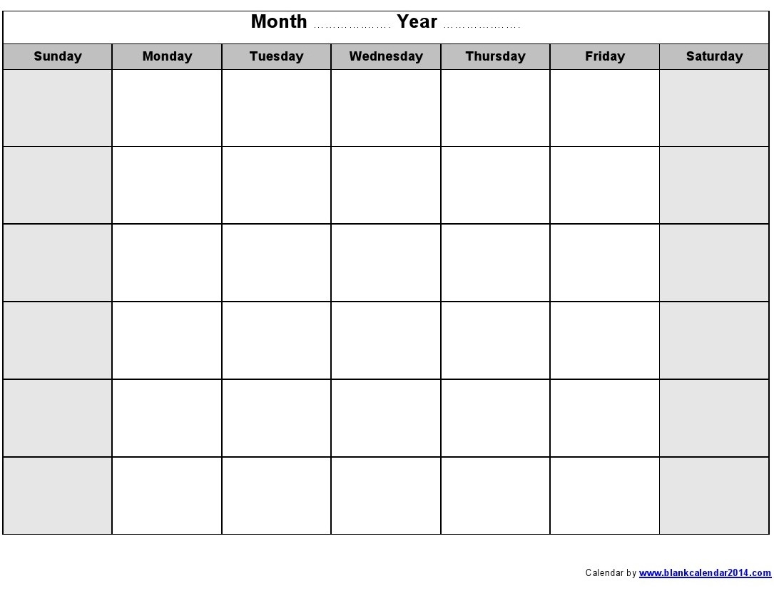 monthly calendar printable monthly calendar template Free Printable Monthly Calendar With Lines erdferdf