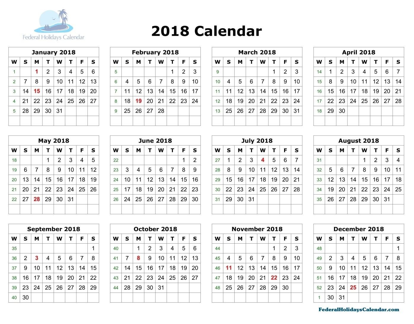 october 2018 calendar holidays usa printable calendar 2018 holiday 2018 Calendar With Holidays Usa Printable erdferdf