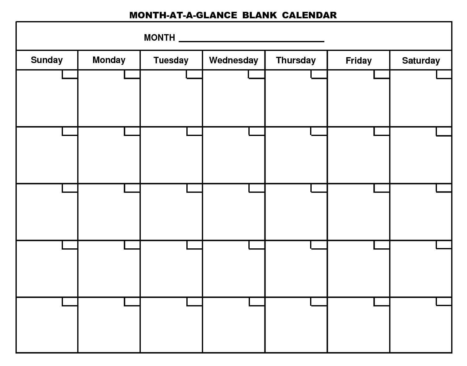 printable blank monthly calendar calendar month printable Free Printable Monthly Calendar With Lines erdferdf