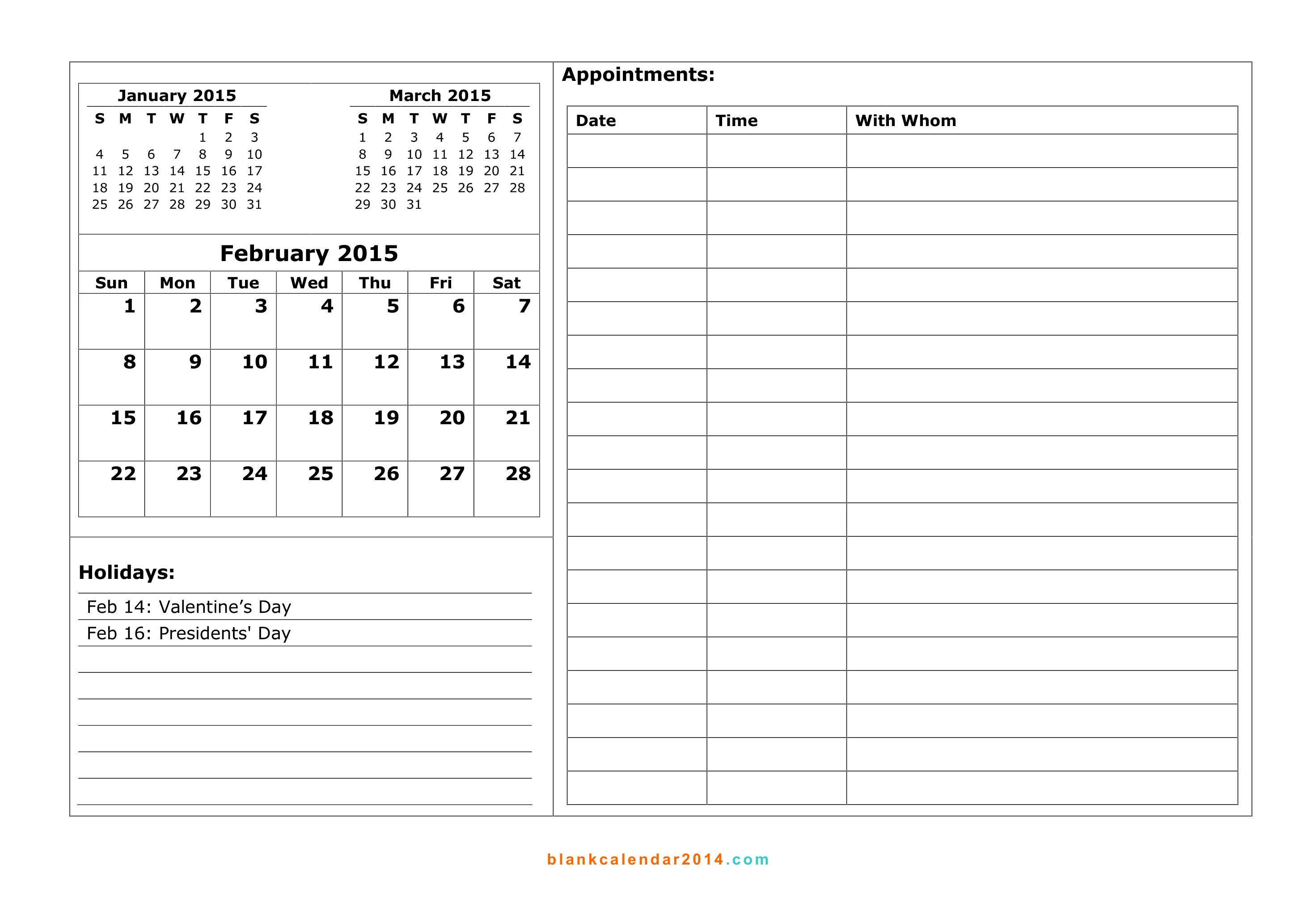 printable calendar template to download Free Printable Monthly Calendar With Lines erdferdf