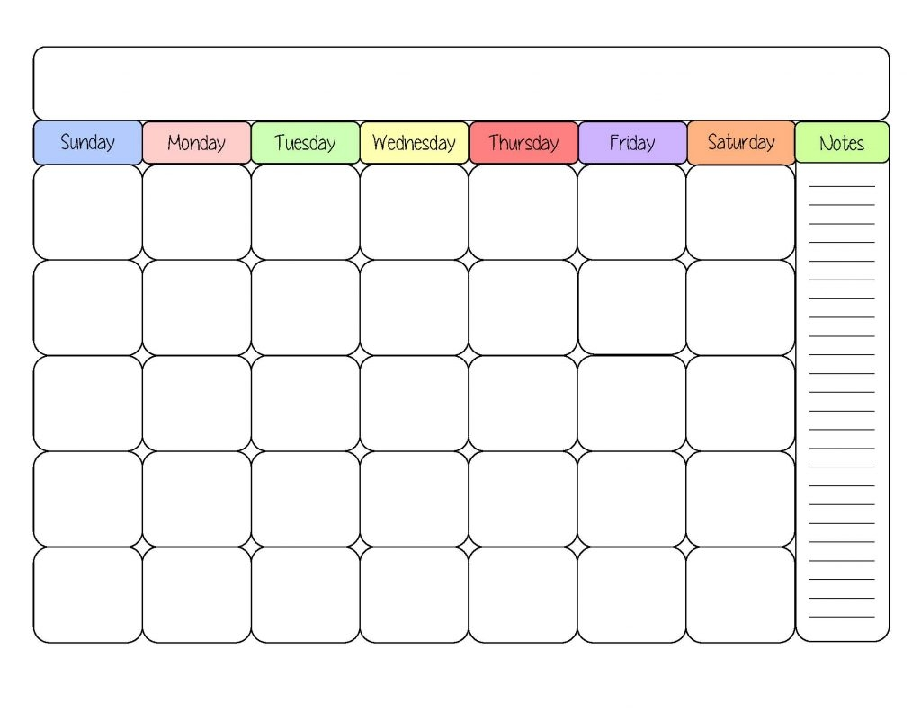printable monthly calendar with lines large calendar 2018 design Free Printable Monthly Calendar With Lines erdferdf