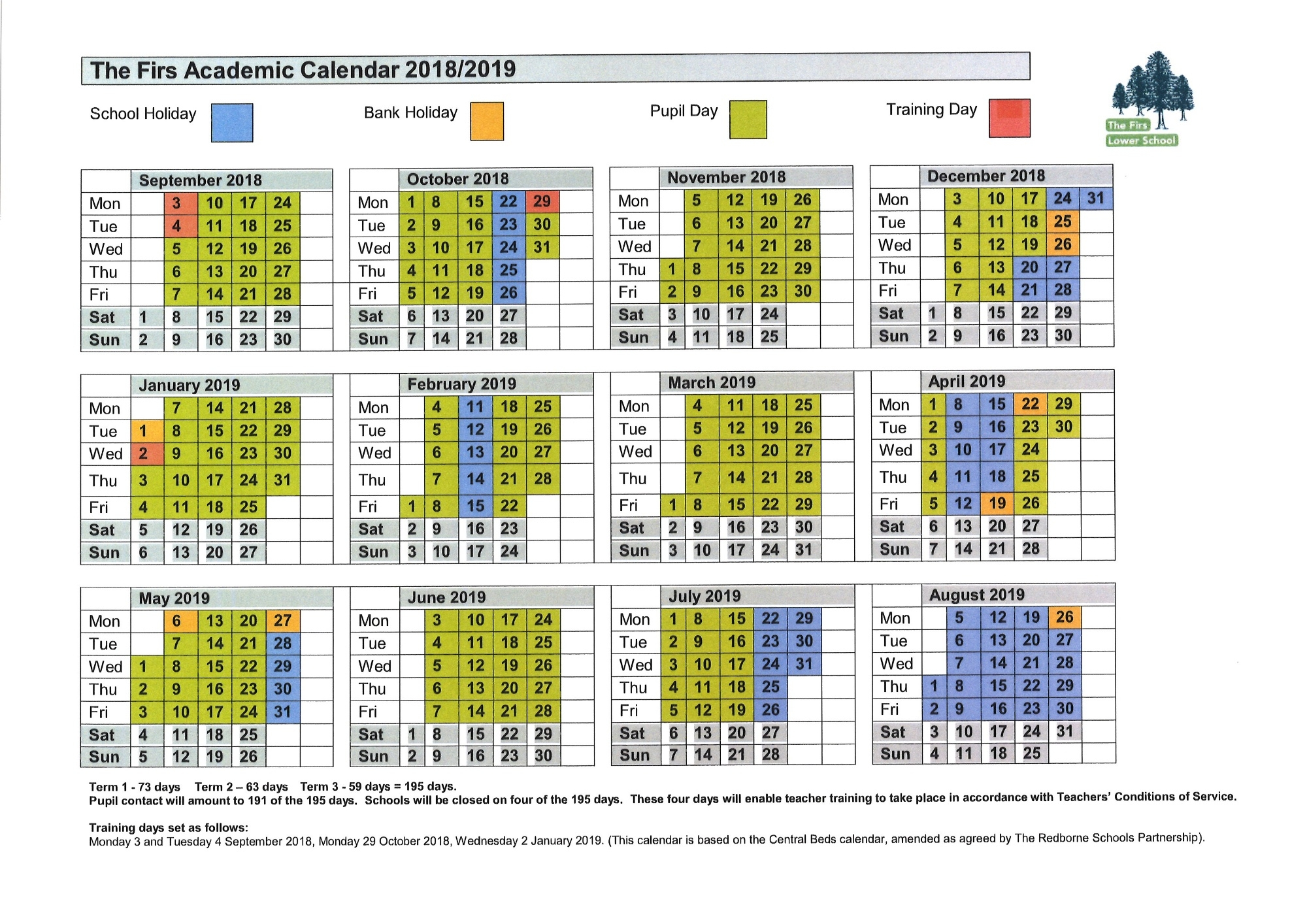 the firs lower school school term dates Government Calendar With Holidays 2018 erdferdf