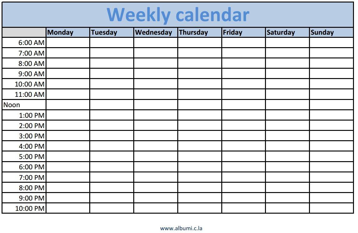 week time calendar manqalhellenesco Cute Printable Blank Calendar Weekly Schedule erdferdf