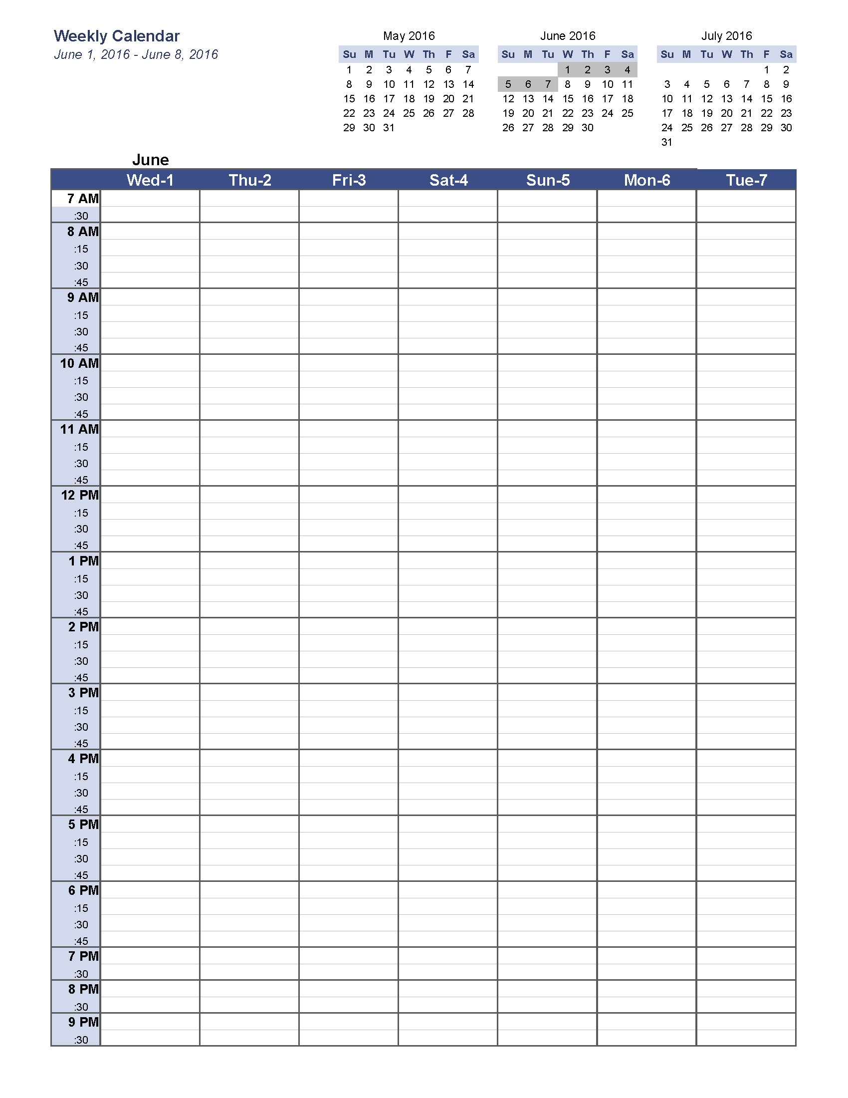 weekly calendar with time slots excel template fancy blank Weekly Calendar With Time Slots Template erdferdf