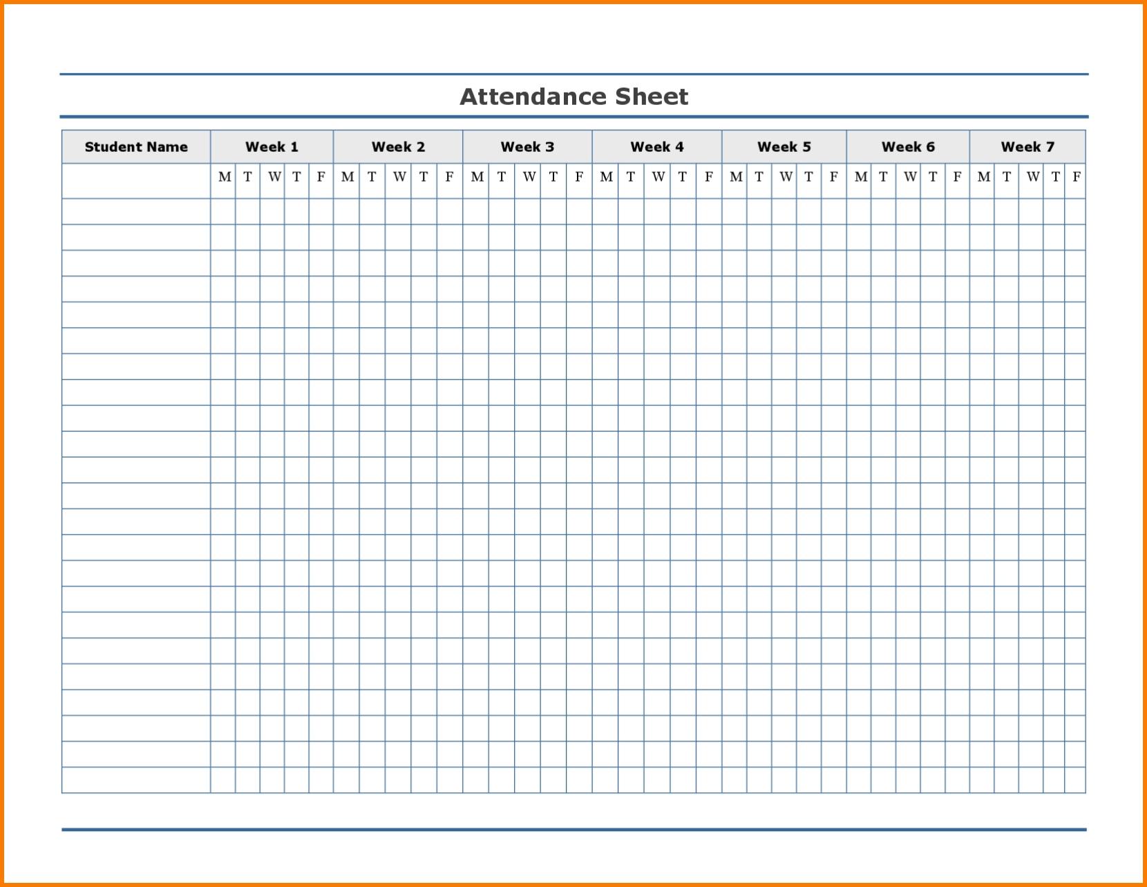 yearly attendance calendar for 2018 calendar printable free Free Employee Attendance Calendar 2018  erdferdf