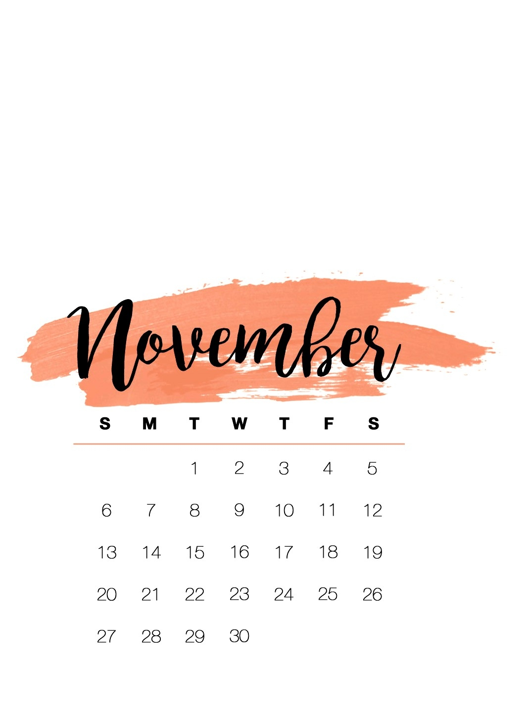 cute november 2018 calendar wallpaper printable calendar 2018 Editable November 2018 Calendar erdferdf
