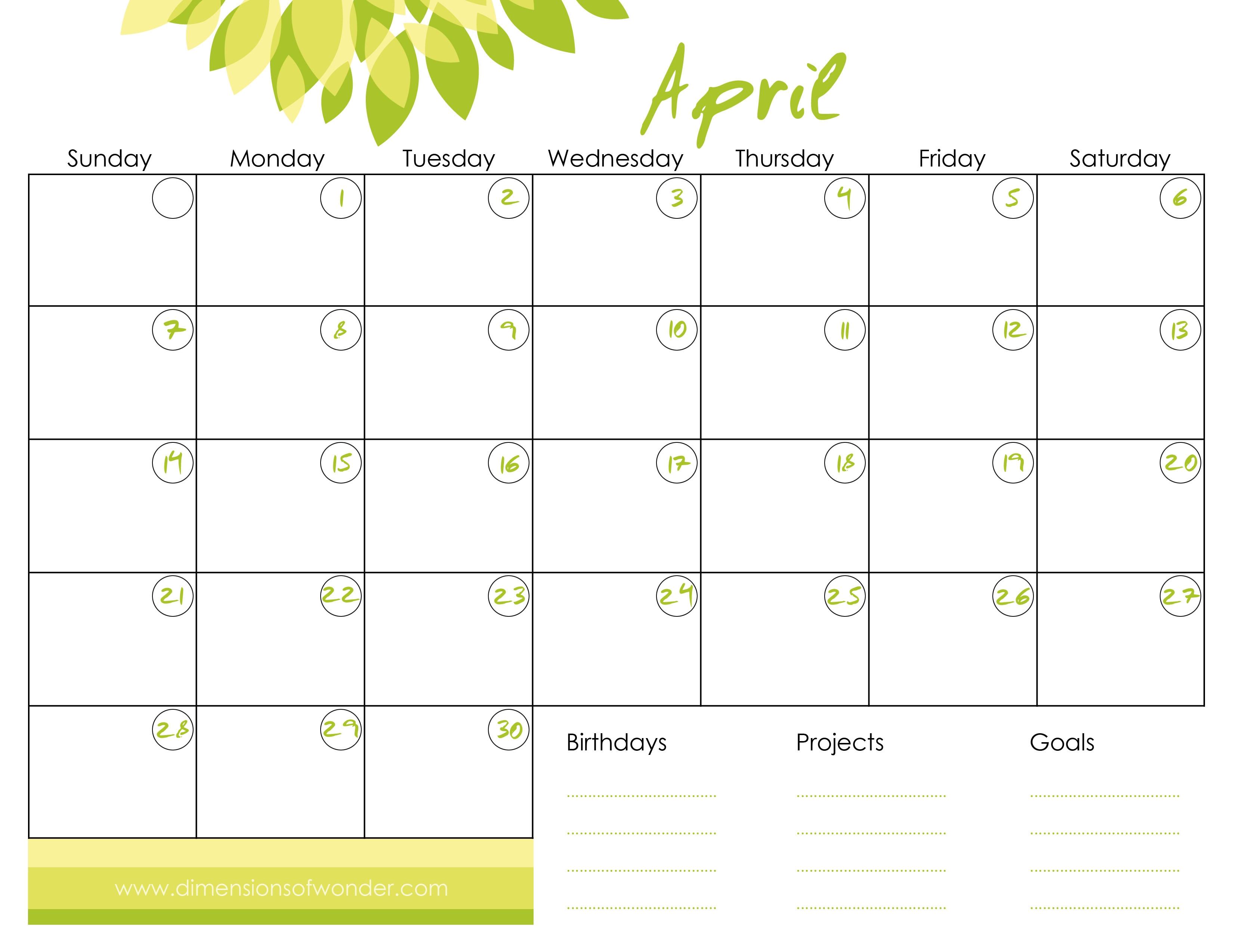 free printable online calendar meloin  Cute Free Monthly Printable Calendar 2018 erdferdf