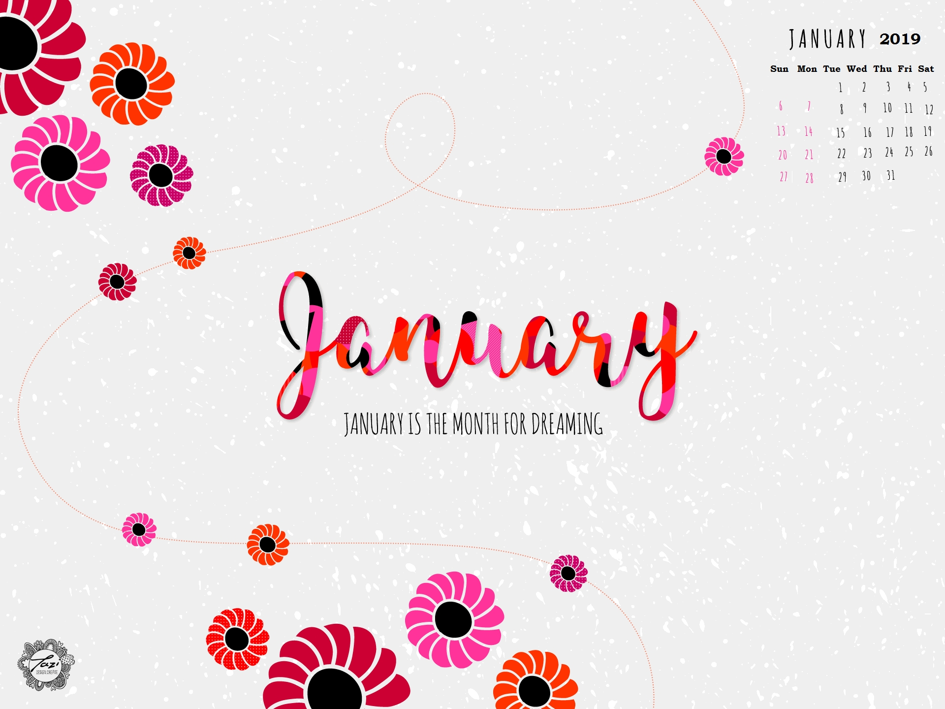 january 2019 hd calendar wallpapers calendar 2019 January 2019 HD Calendar Wallpapers erdferdf