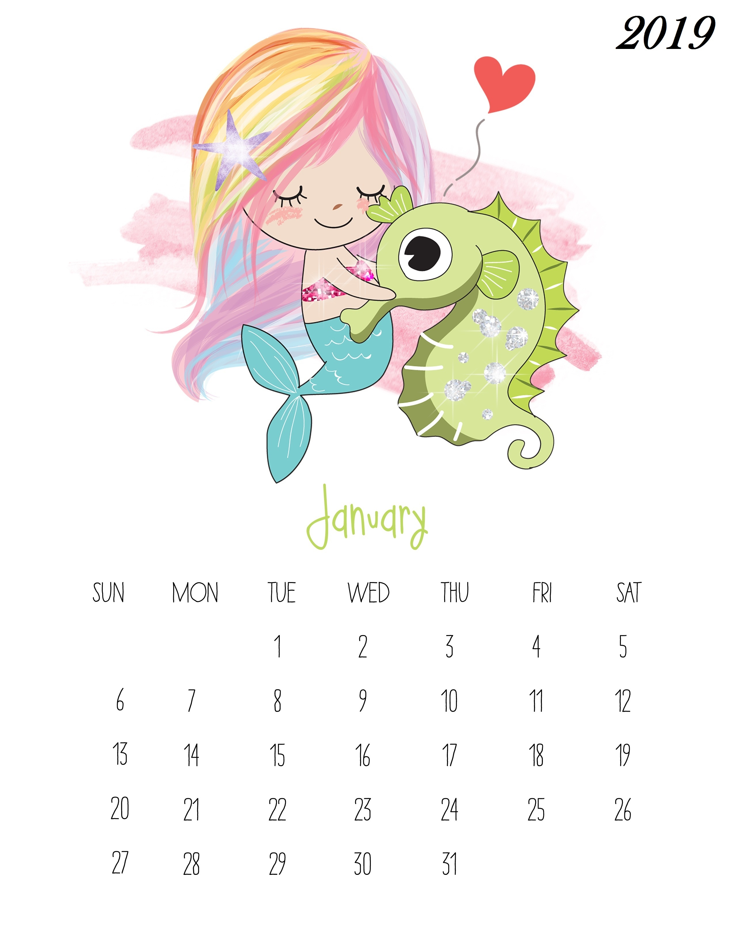 january 2019 printable calendar usa january 2019 calendar templates::January 2019 Calendar Excel