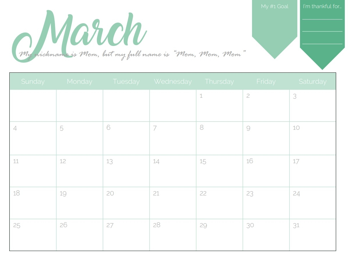 march 2018 calendar calendar 2018 2018 Stylish Calendar Templates erdferdf