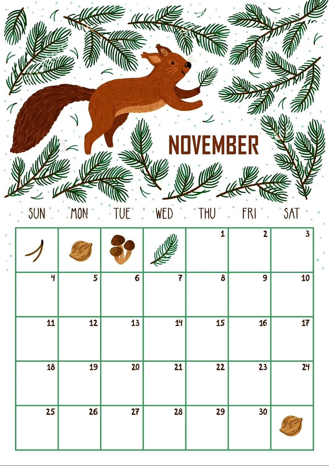 november 2018 archives picture pictures printable template Editable November 2018 Calendar erdferdf