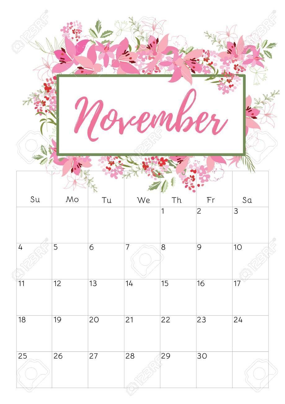 november 2018 calendar pink yelommyphonecompanyco::November 2018 Calendar