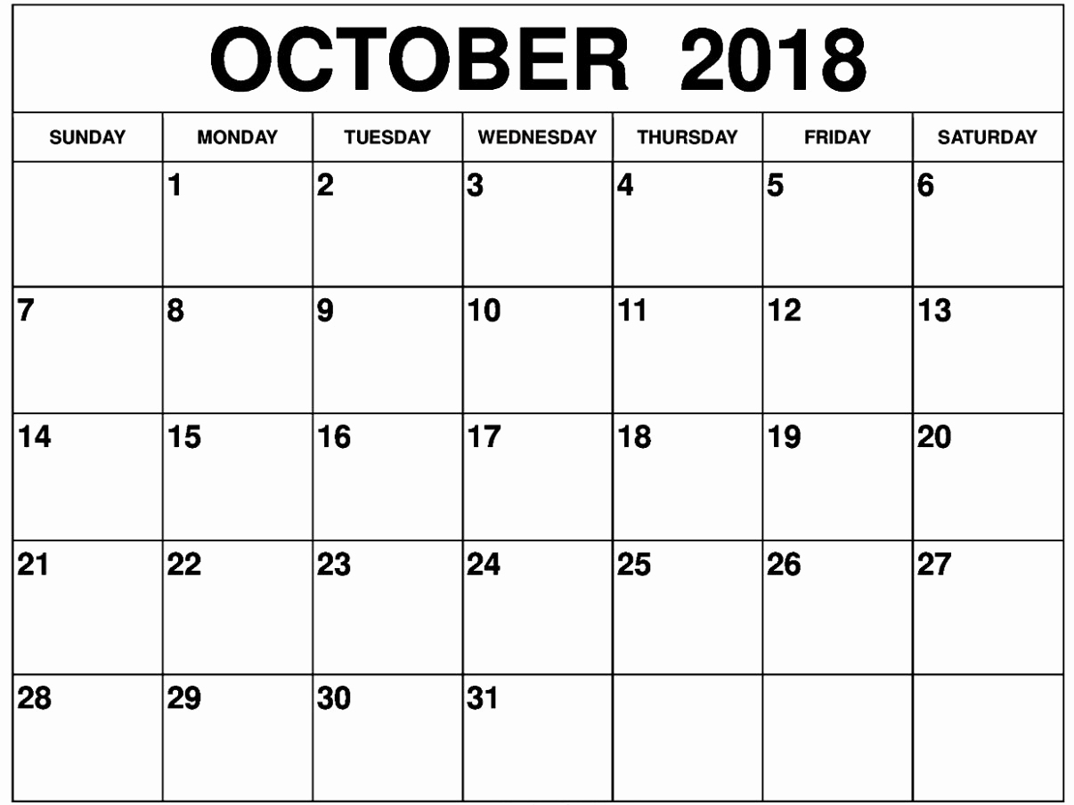 october 2018 calendar pdf october 2018 calendar pdf calendar October 2018 Calendar Holidays USA erdferdf