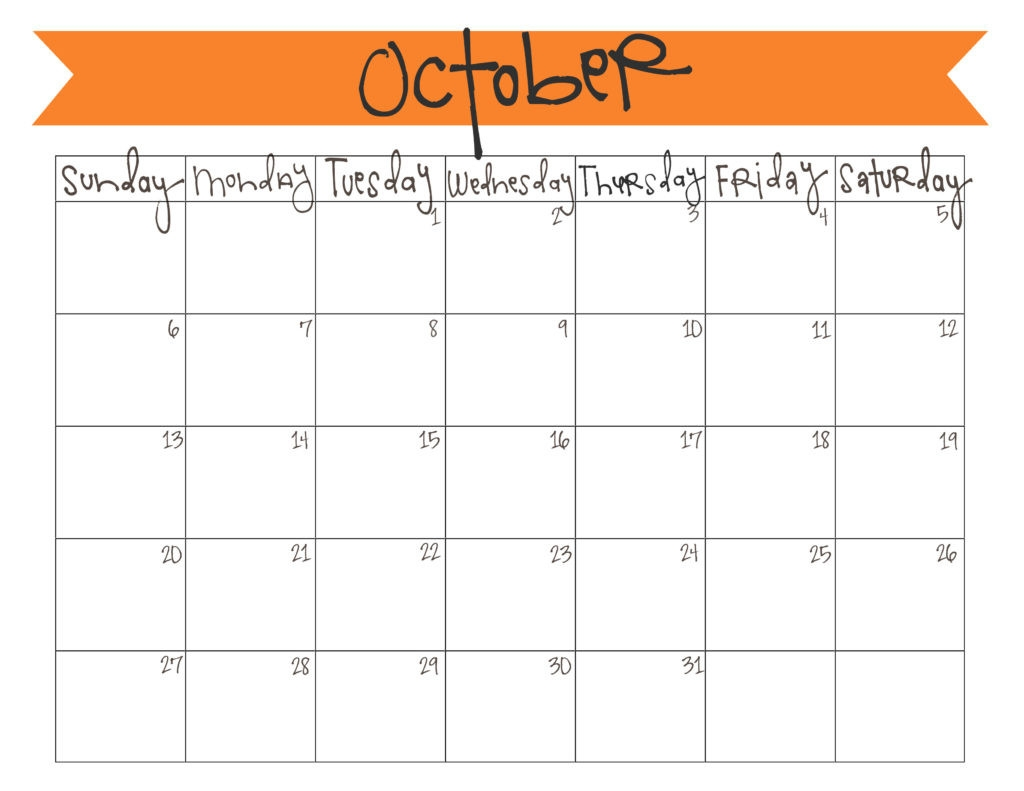 october 2018 calendar printable template site provides striking of October 2018 Calendar Printable Template erdferdf