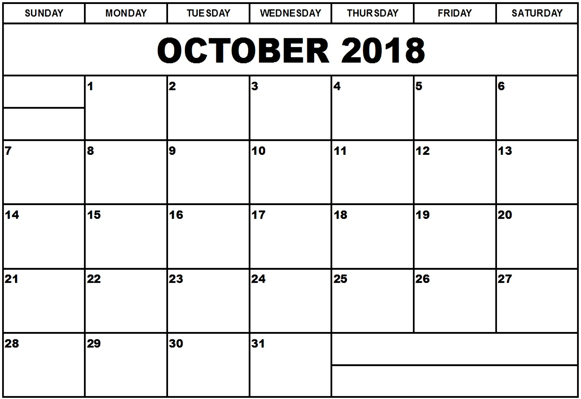 october 2018 calendar usa bank holidays calendar printable with October 2018 Calendar Holidays USA erdferdf