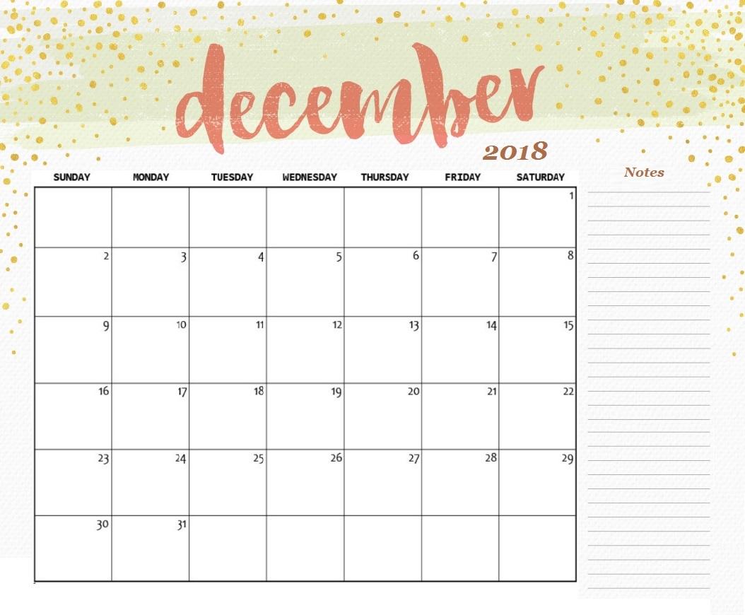 template of december 2018 blank calendar december 2018 calendar::December 2018 Calendar Printable Template