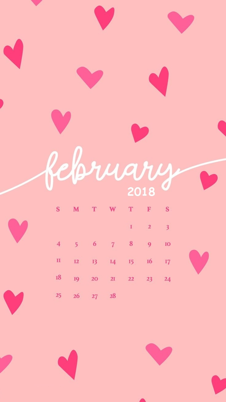 2018 iphone calendar wallpaper calendar 2018::February 2019 iPhone Calendar Wallpaper
