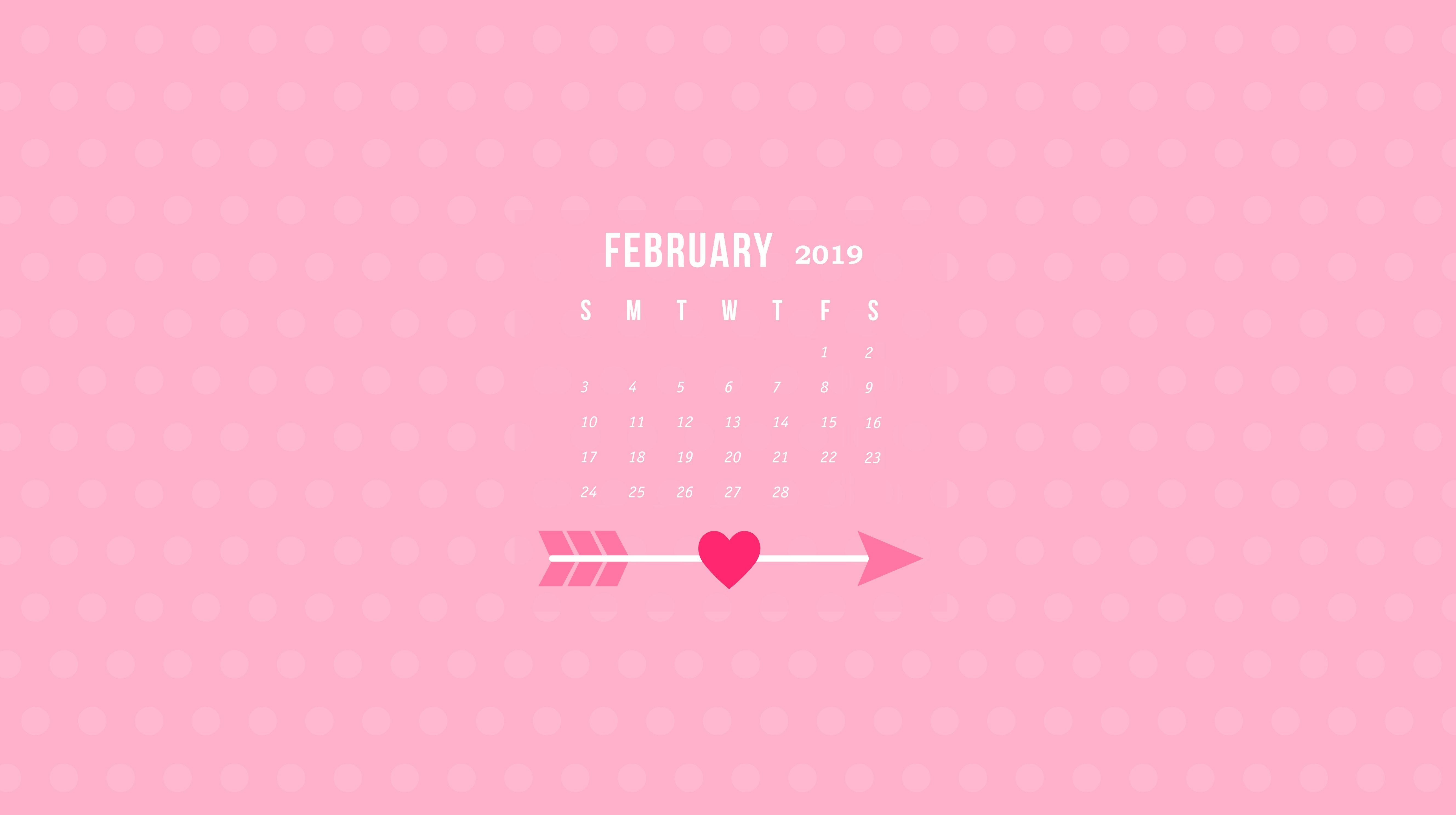 2019 february calendar wallpaper hdwallpapers monthly calendar::February 2019 Desktop Calendar